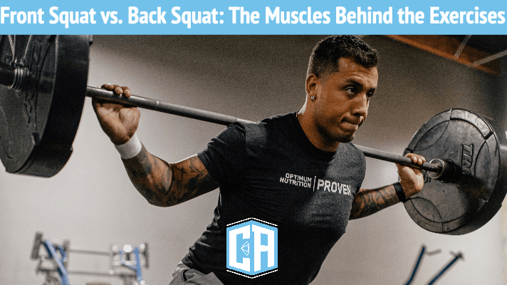 Cody Allen back squat