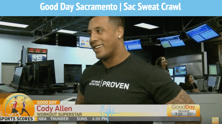 Good Day Sac | Cody Allen Sweat Crawl
