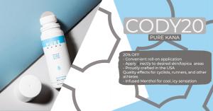 Pure Kana discount code: CODY20