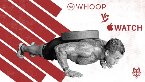 Whoop vs apple watch blog Header