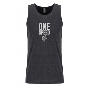 One speed tank charcoal