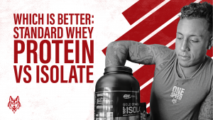 Whey protein vs isolate banner