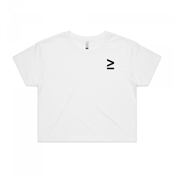 White greater than crop front