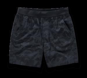 Black Camo Intverval Short